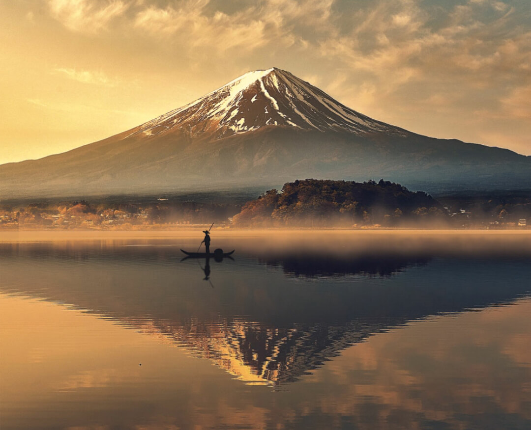 Mount Fuji Lake Kawaguchi
