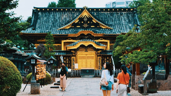 Sanctuaire Toshogu, Parc Ueno