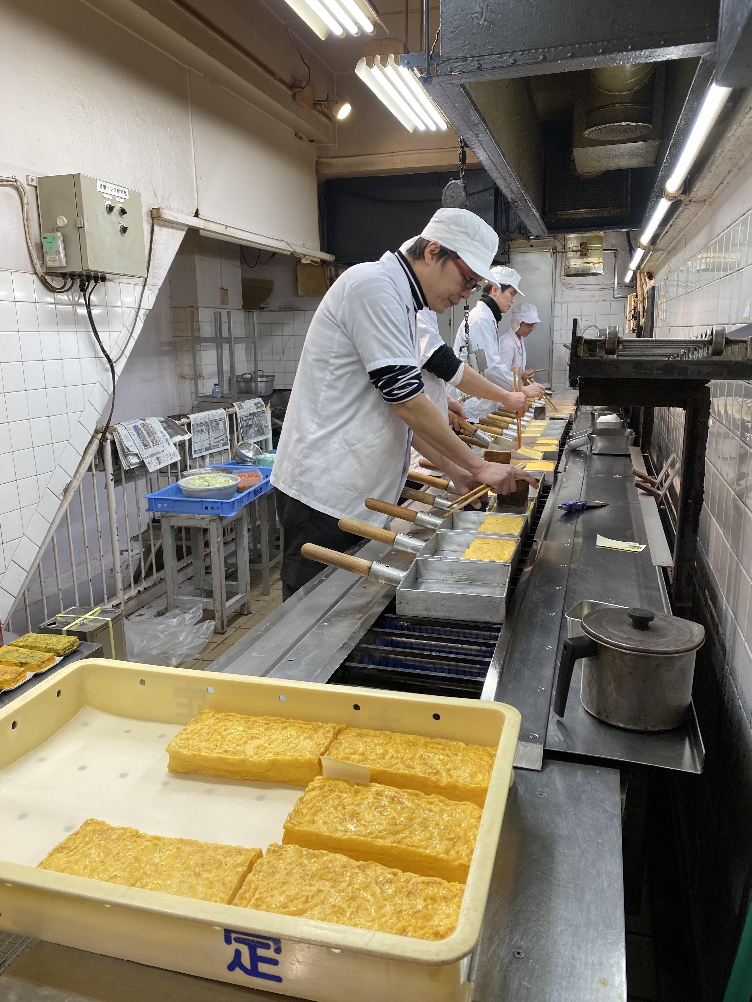 Tsukiji tamagoyaki