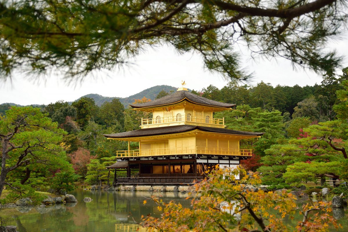 kinkakuji temple golden pavillion
