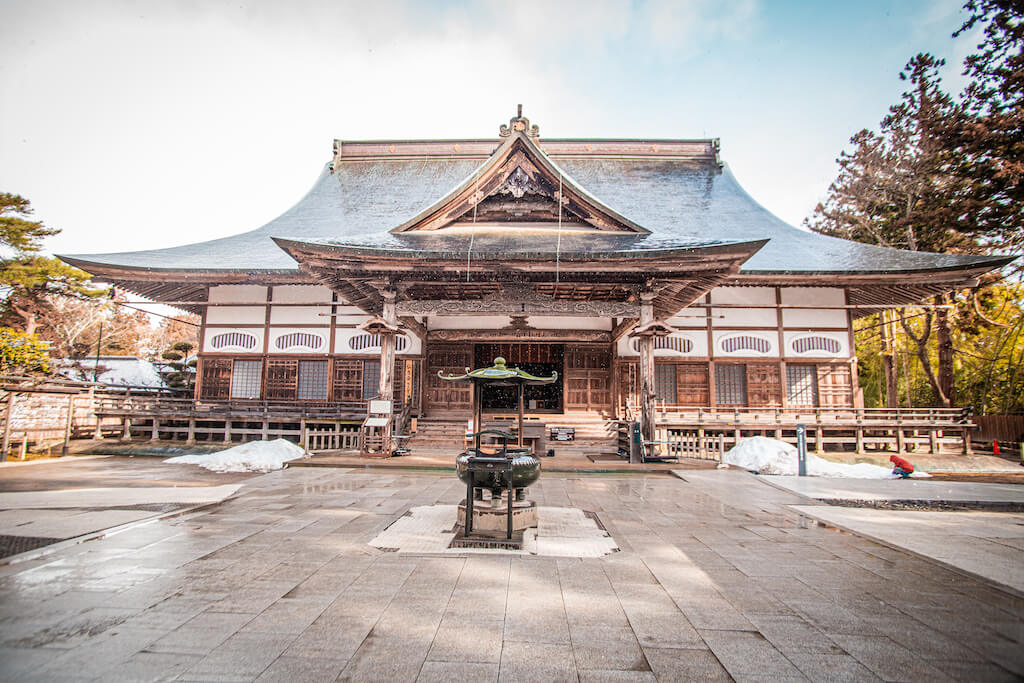 Tohoku Hiraizumi Chusonji temple