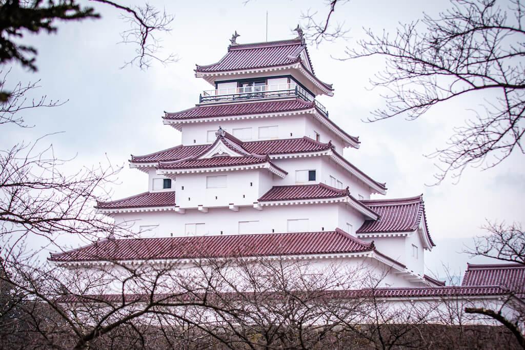 Tohoku Aizu Tsurugajo castle