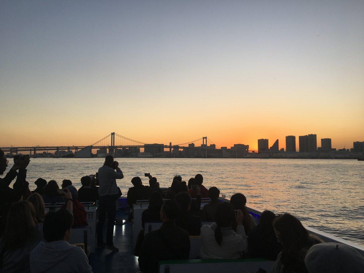 Sunset cruise Odaiba