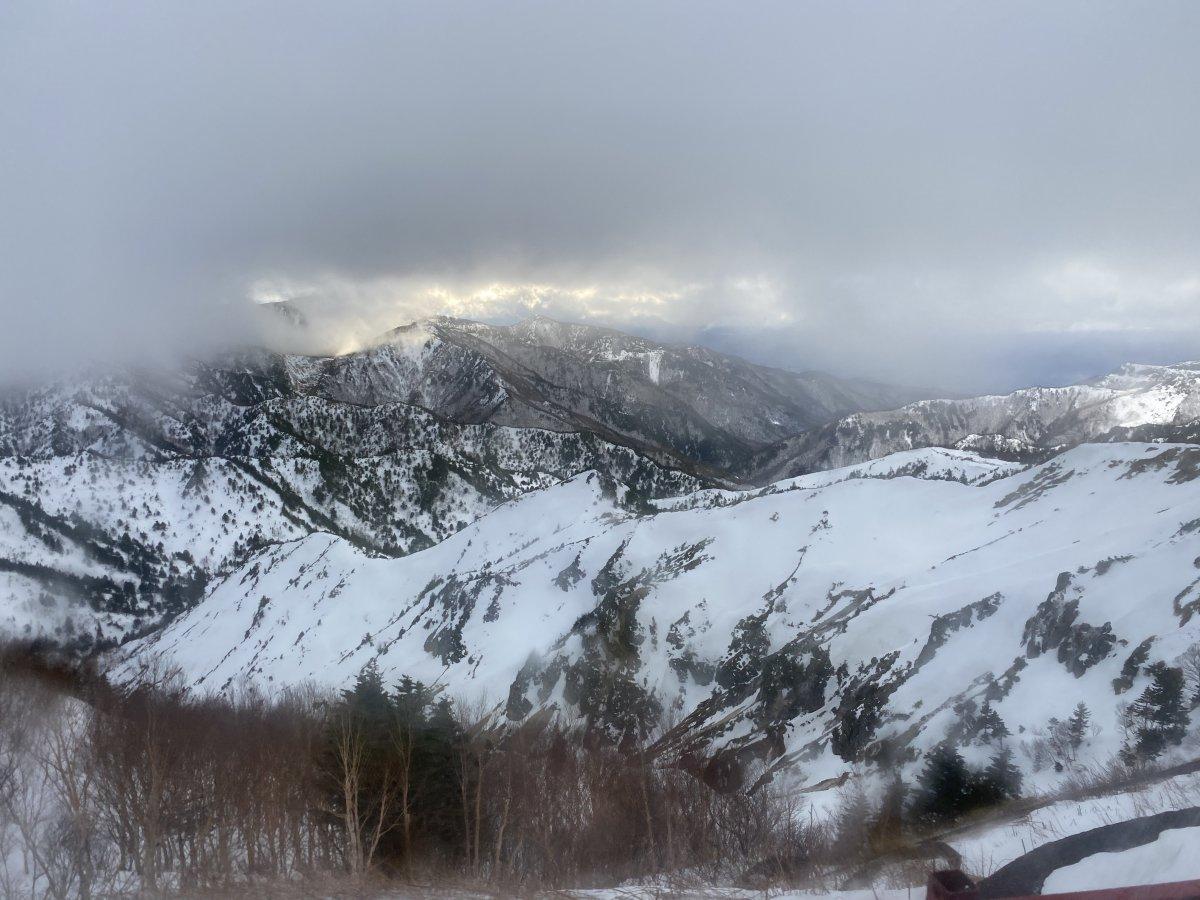 Shiga Kogen Nagano, mountains, snow