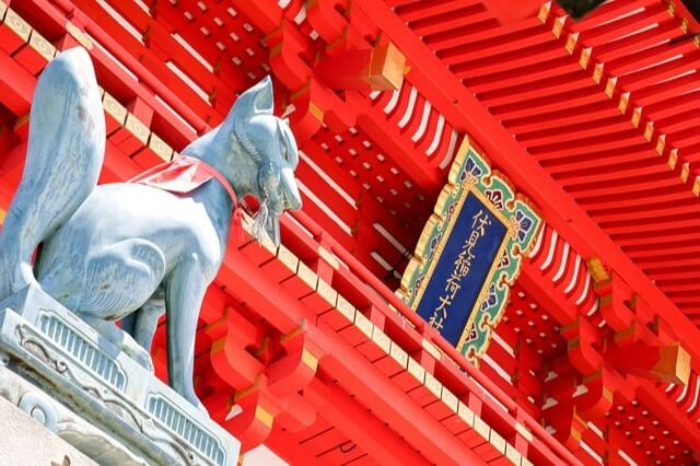 Inari-shrines-fox