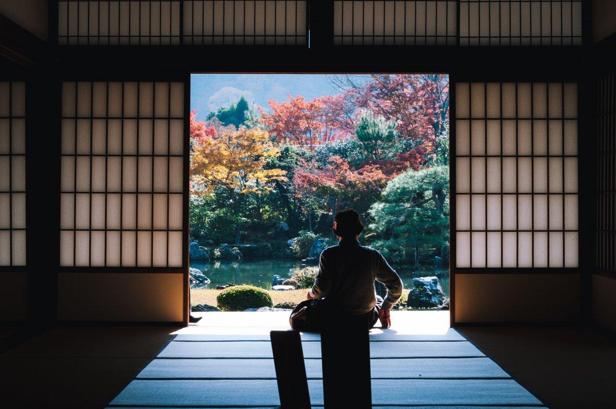 Temple Tenryu-ji, Kyoto