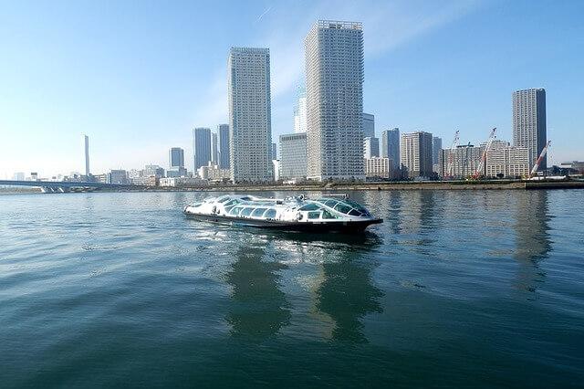Tokyo Skyline river cruise