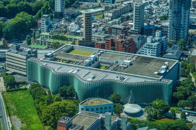 The national art center of Tokyo