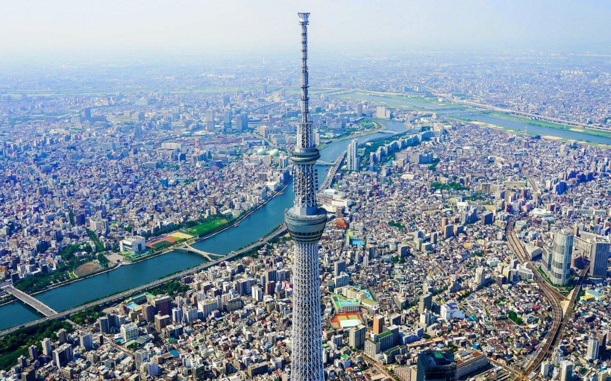 Tokyo Sky Tree panoramic view
