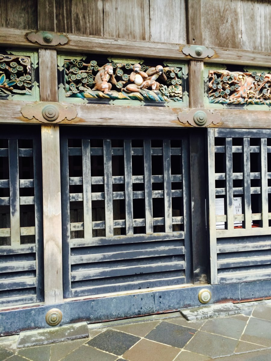 Toshogu Shrine Monkeys Nikko