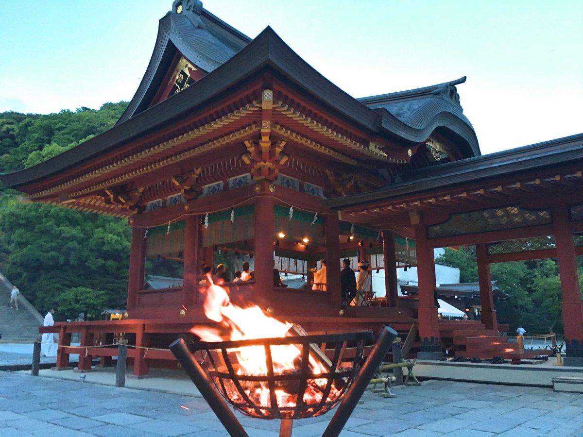 Tsurugaoka Hachimangu shrine Kamakura