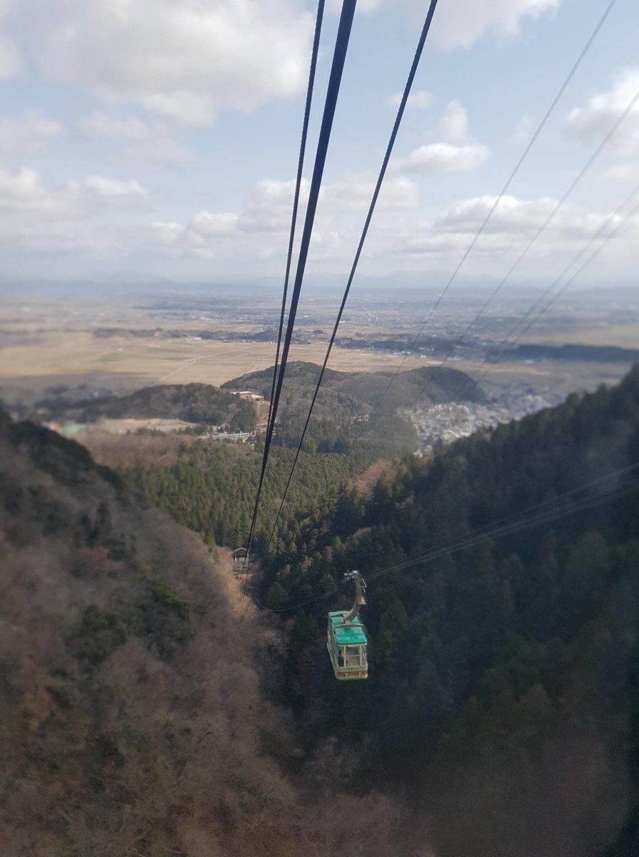 Niigata, Yahiko Ropeway