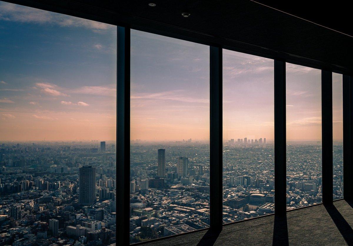 Shibuya Sky panoramic view