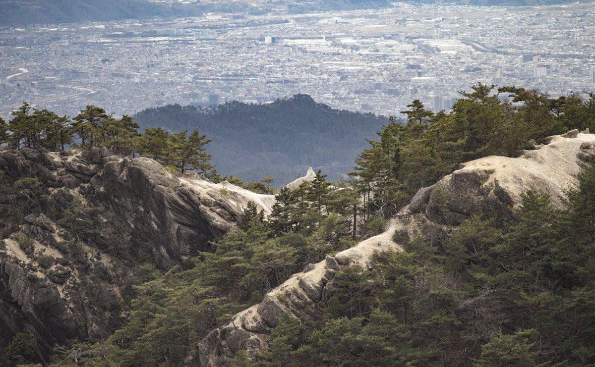 Greenery Mountain scenery Shosenkyo
