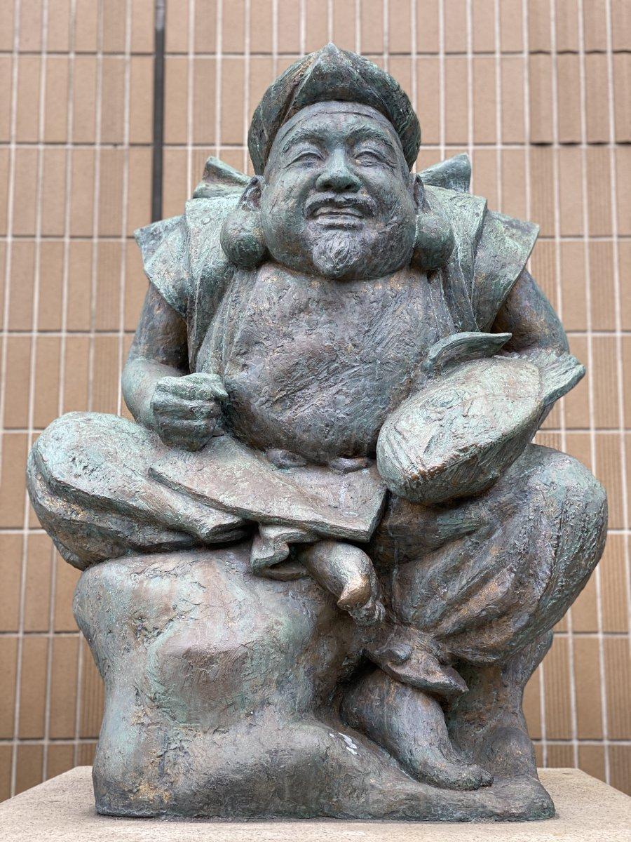Ebisu statue