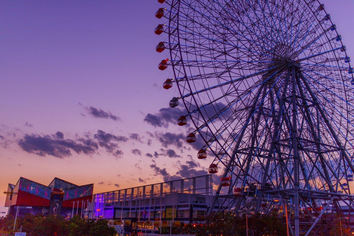 Osaka bay Ferris Wheel