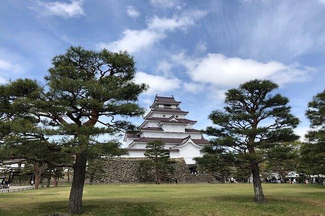 Tsuruga castle Fukushima