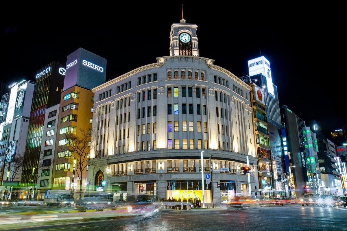 ginza wako department store