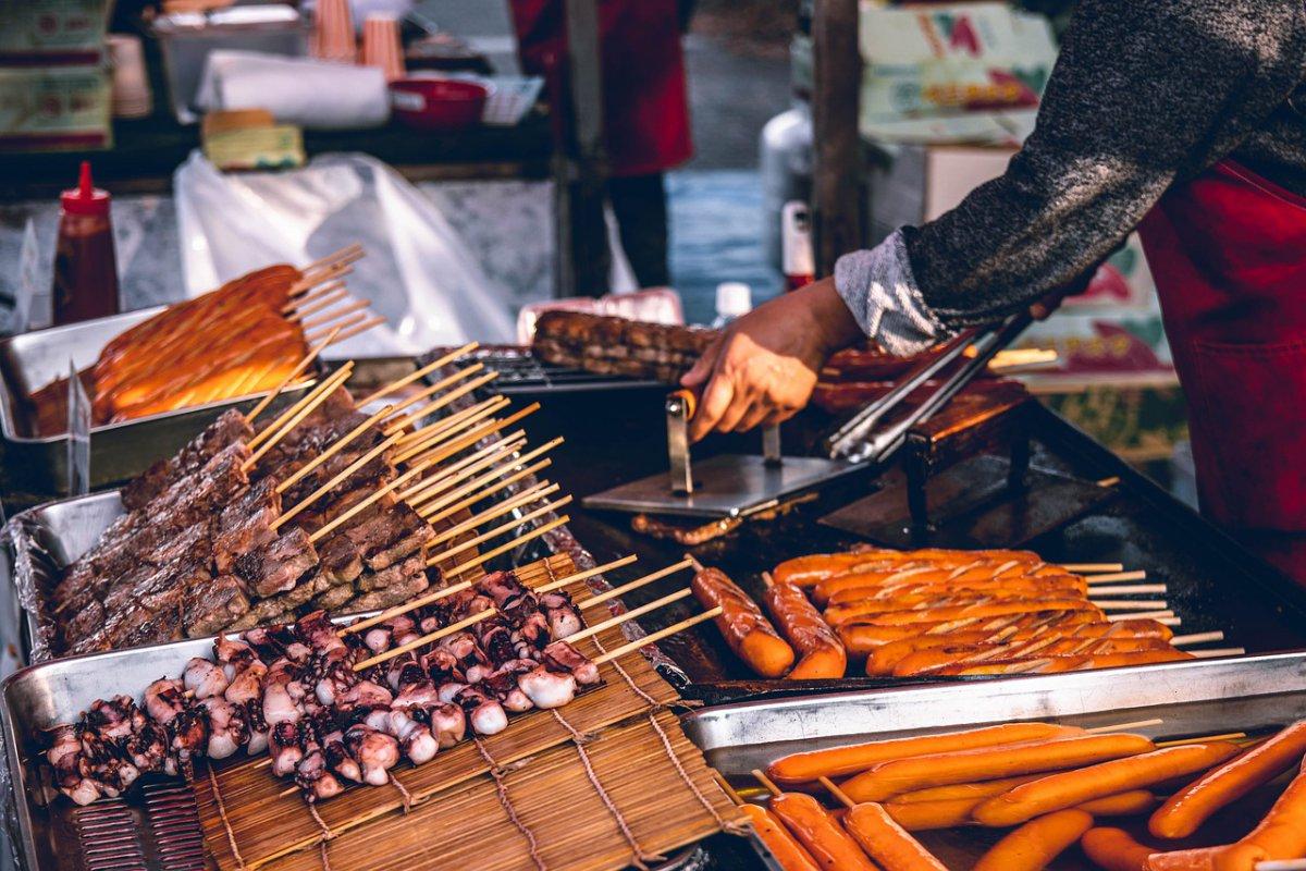 street food Osaka