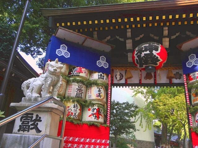 Kushida-jinja Shrine fukuoka