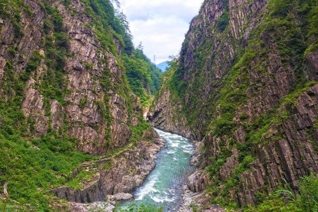 Niigata, Kiyotsu Gorge, Joshinetsu Kogen National Park, picture spot