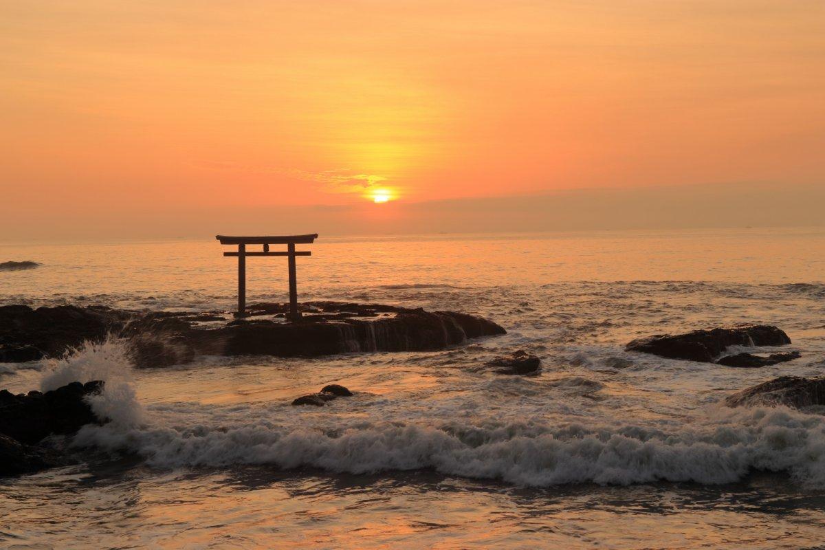 Oarai Isosaki Shrine, torii