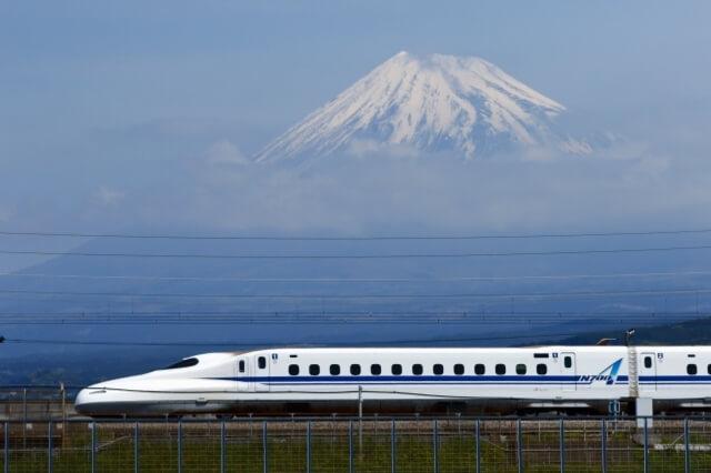 Yamanashi Mt.Fuji Shinkansen