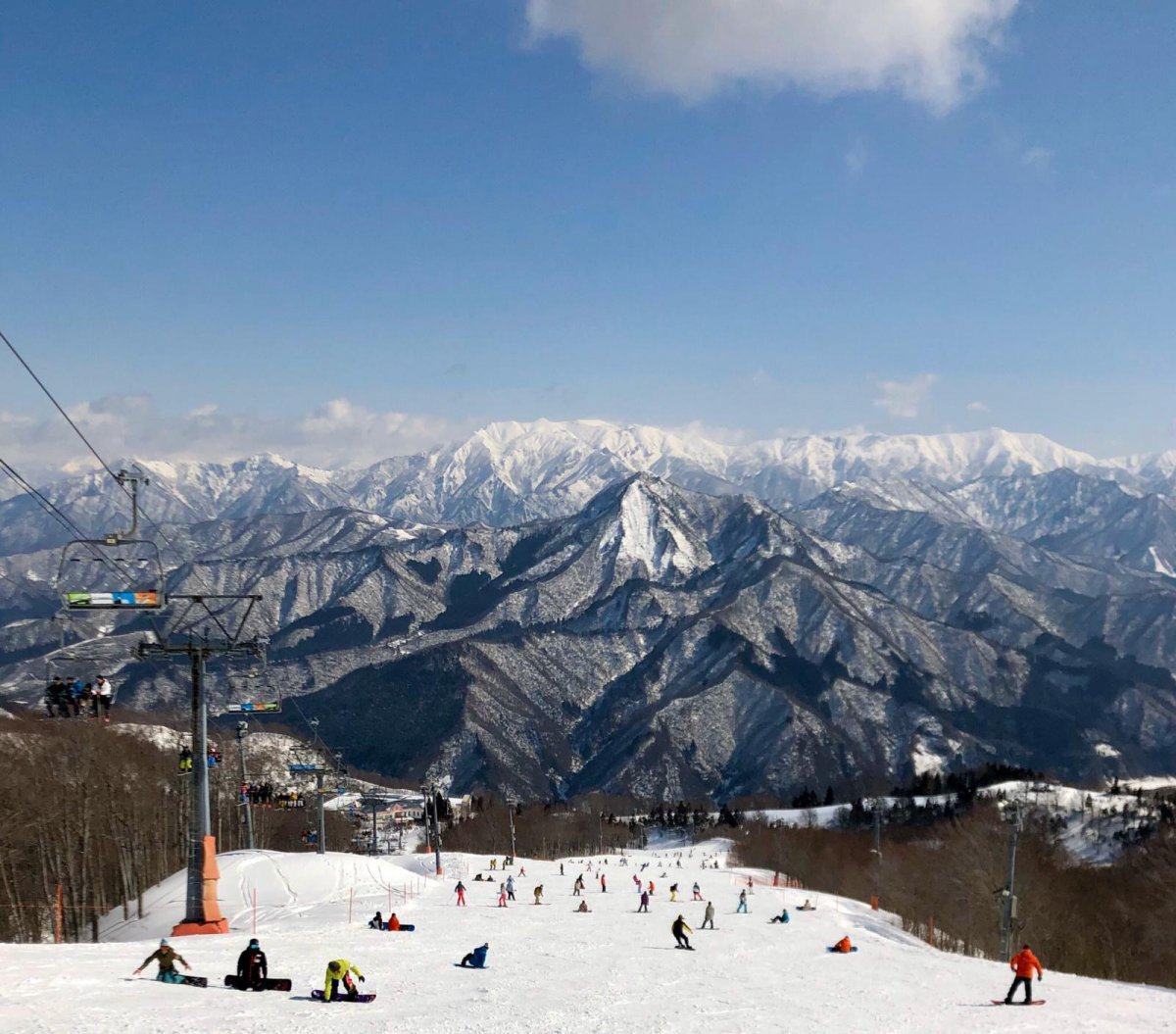 Gala Yuzawa snow niigata