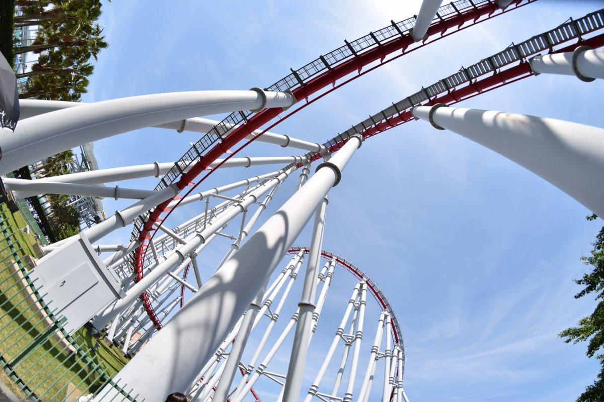 Nagashima roller coaster
