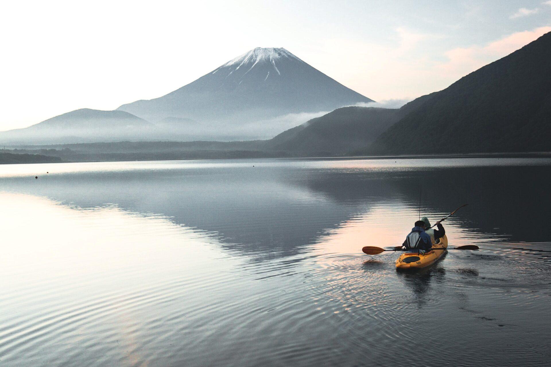 Mt. Fuji activities kayaking