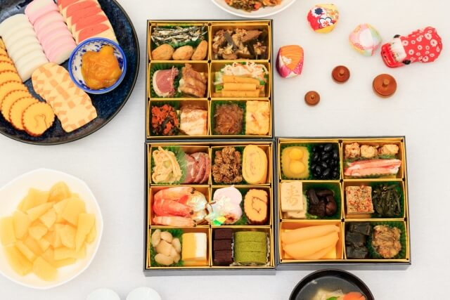 osechi new year