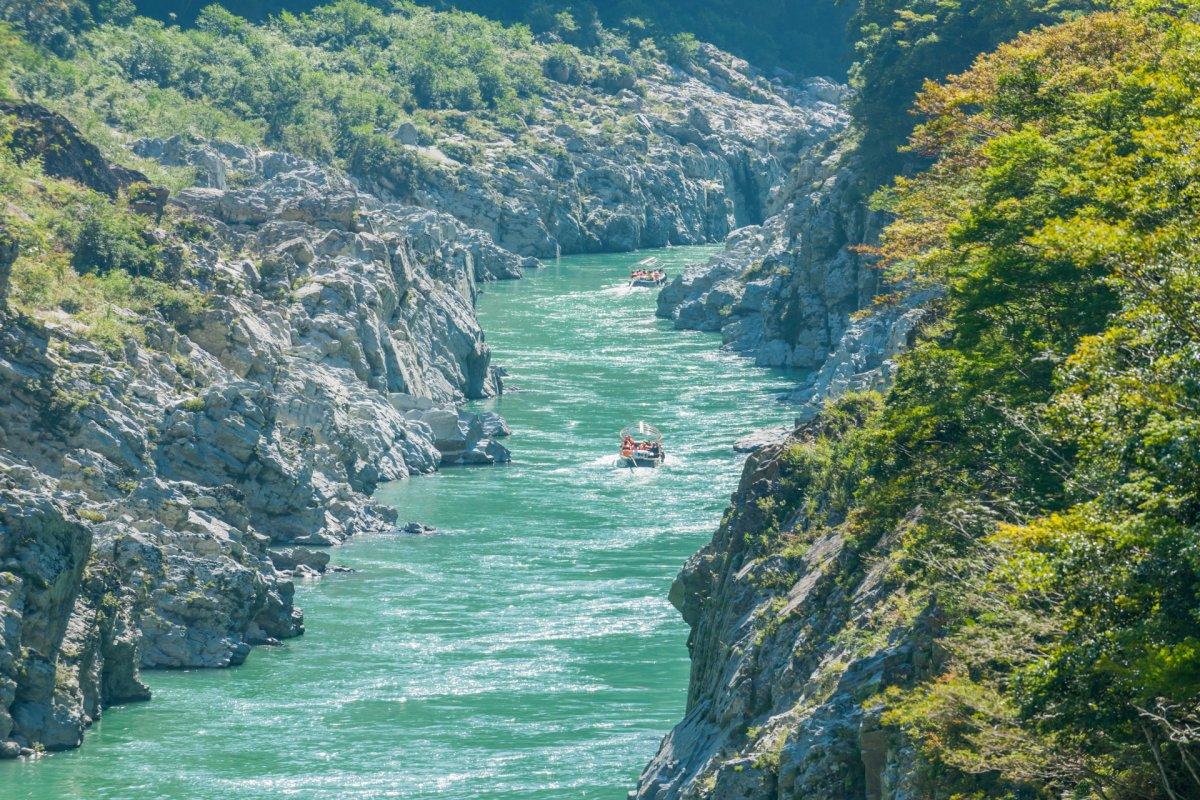 Gorges Tokushima