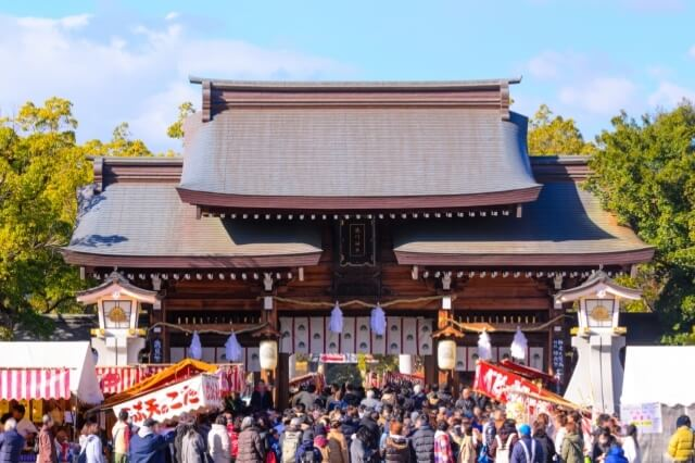 hatsumode new year