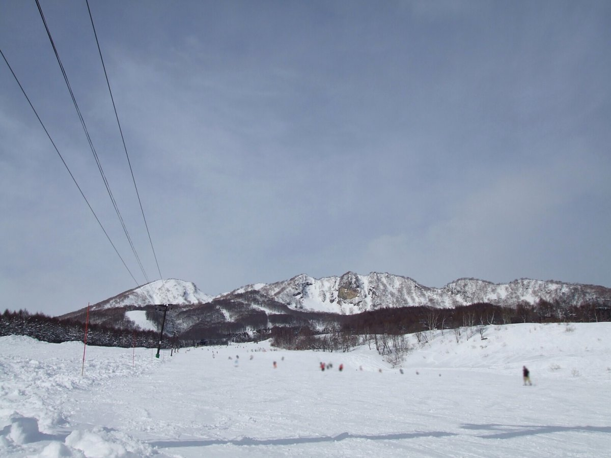 Snow at myoko