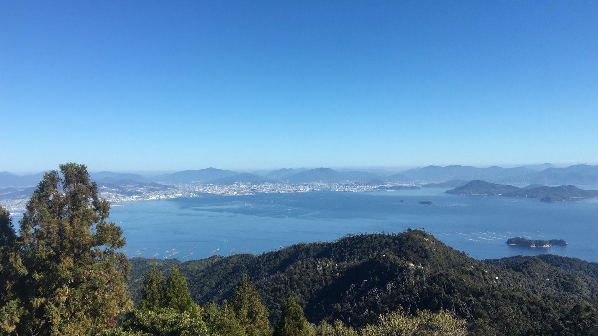 Miyajima Seto Sea