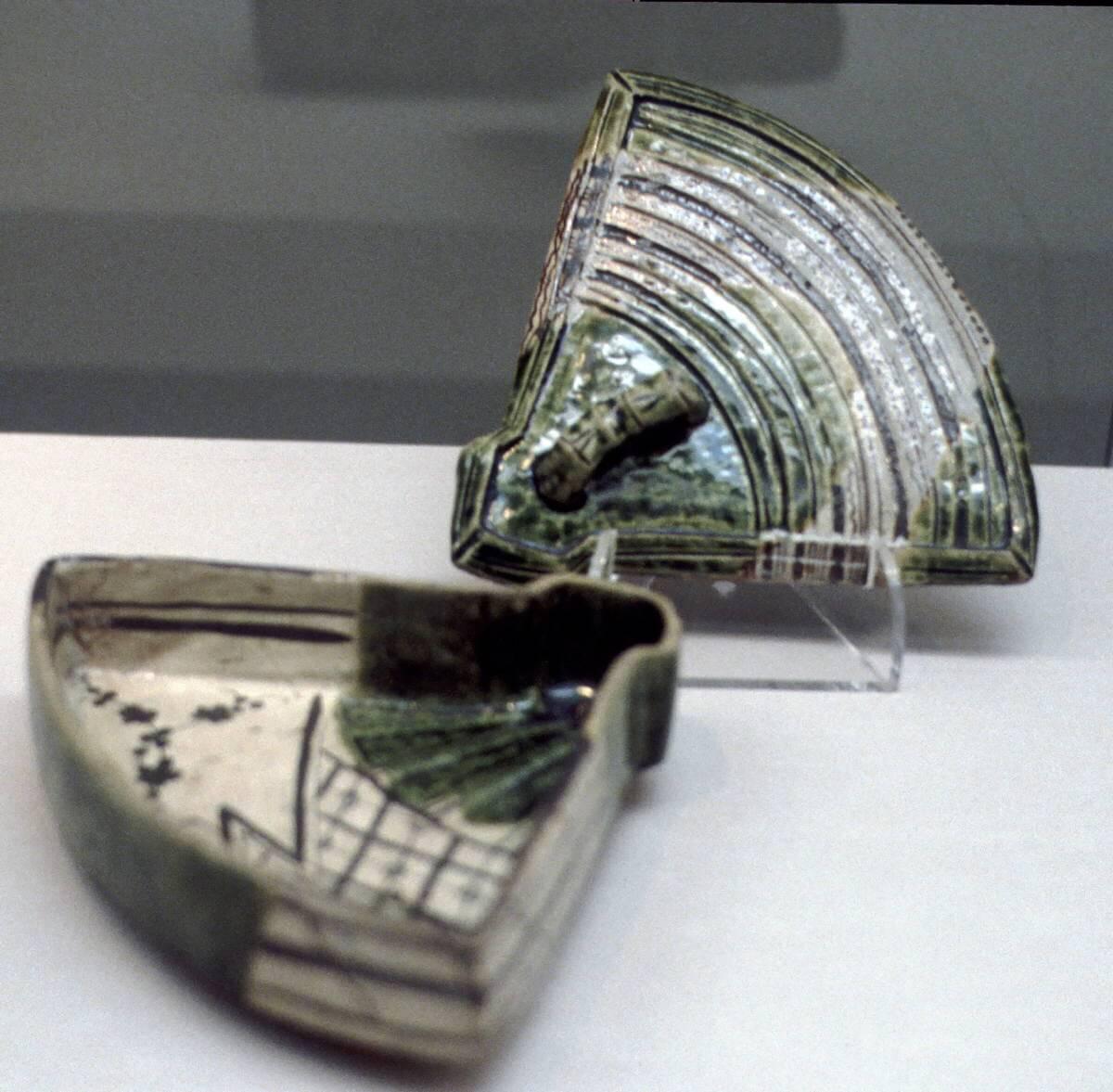 Oribe pottery ware