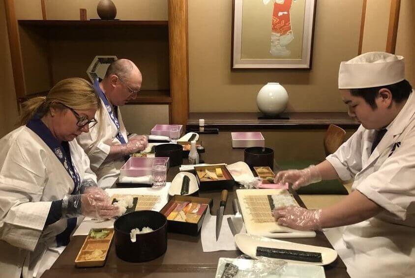 sushi making tour Tokyo
