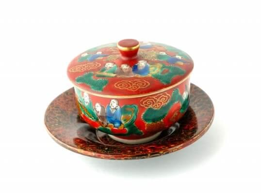 Kutani pottery ware