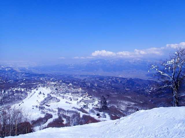Snow at Madarao Mountain Resort