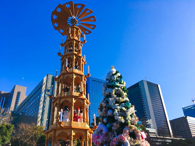 Christmas market shiba park