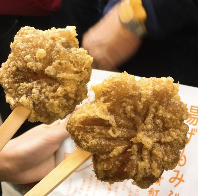 Fried Momiji Manju