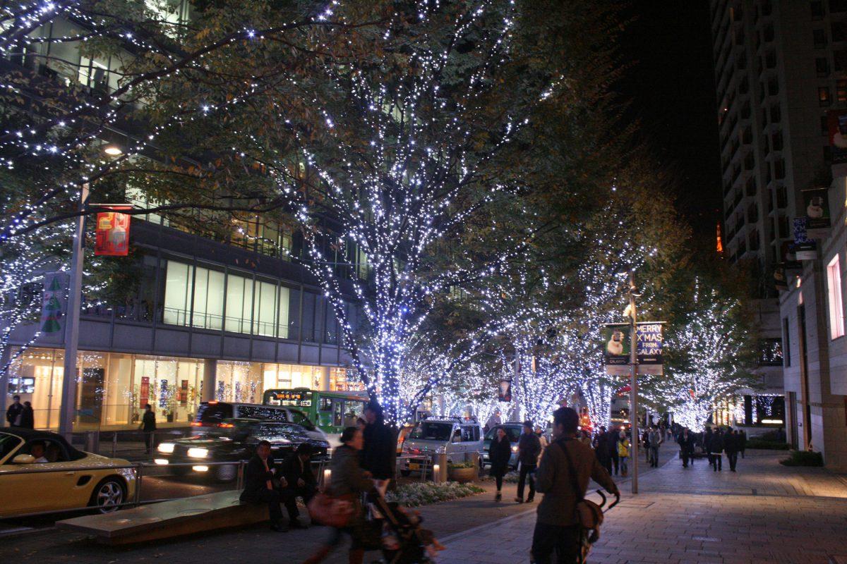 Christmas Roppongi Hills keyazaki