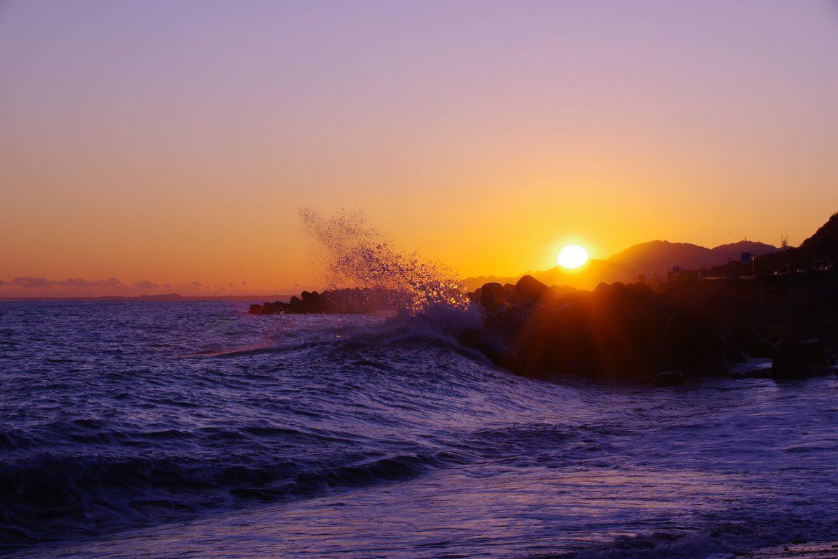 Sunrise new year