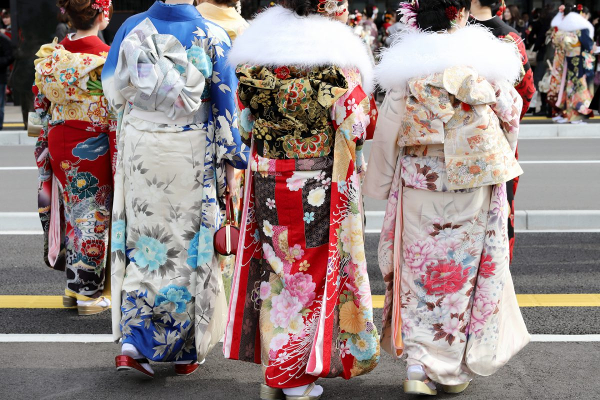 Coming of age ceremony traditional clothing