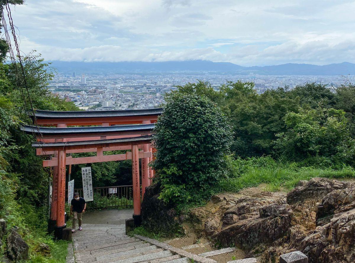 Fushimi Inari Kyoto view