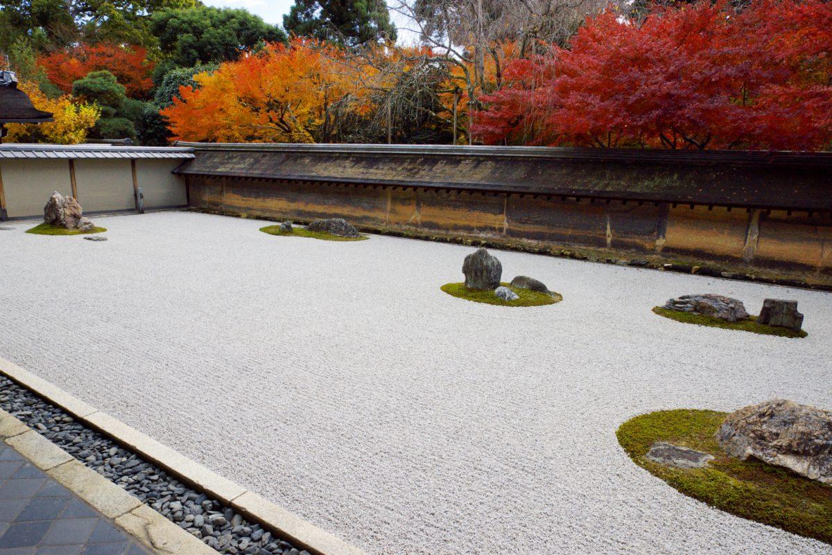 Ryoanji Temple rock garden