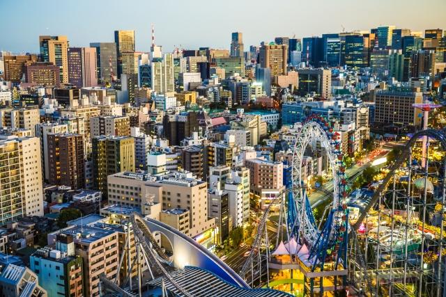 Tokyo dome themepark