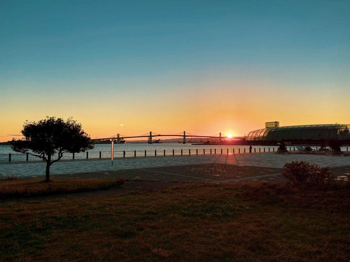Sunset lalalew Iwaki, fukushima