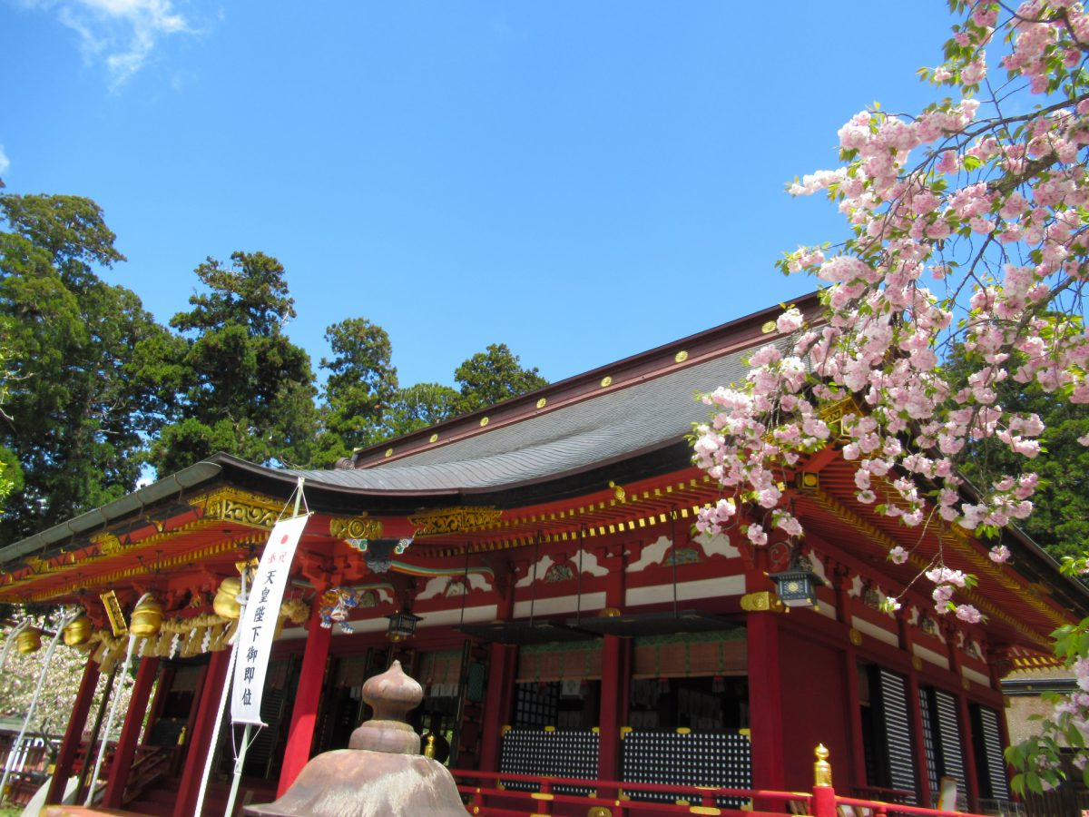 Shiogama Shrine Sanriku