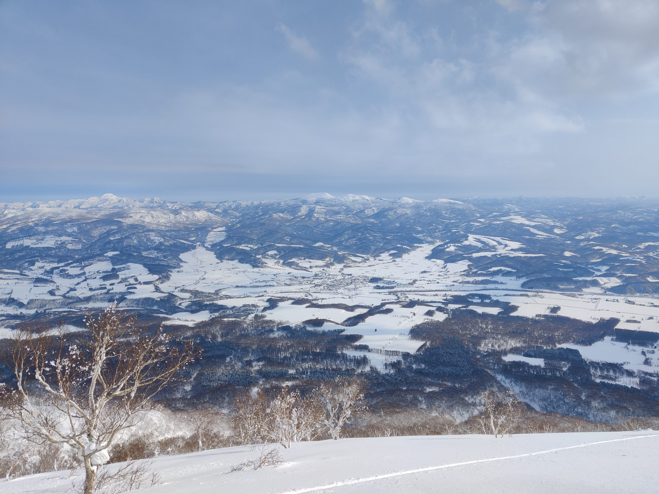 Niseko from Mount Yotei